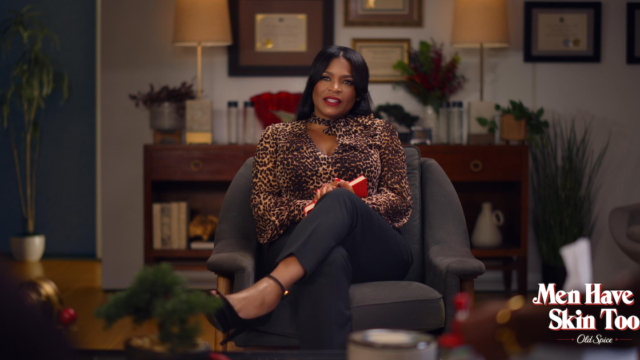 A Hilarious Old Spice Campaign Gives Veteran Actress Nia Long Her First Commercial