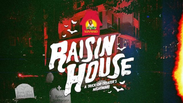 Sun-Maid Embraces Awful Halloween Reputation by Creating an Actual 'Raisin House'