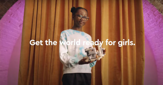 Lego Celebrates the Potential of All Girls And Their Future Achievements