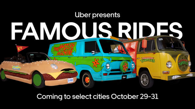 Uber Present Famous Rides