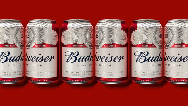 How Budweiser Ditched Its Old Look and Crafted a New Visual Identity
