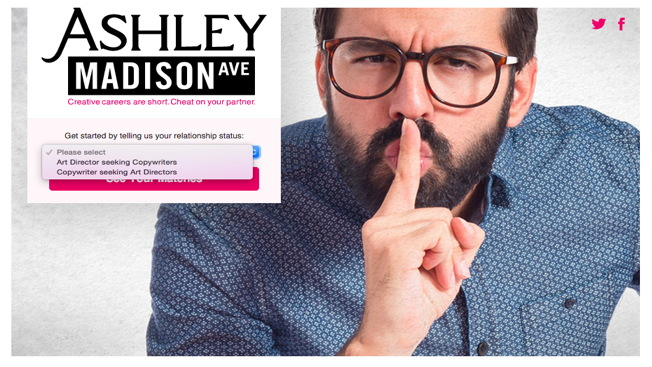 Ashley madison hookup