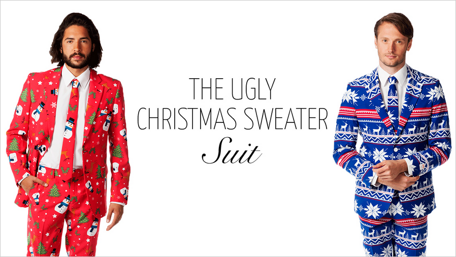 Christmas Sweater Suit.Stop Half Assing Holiday Parties And Go Get Yourself An Ugly