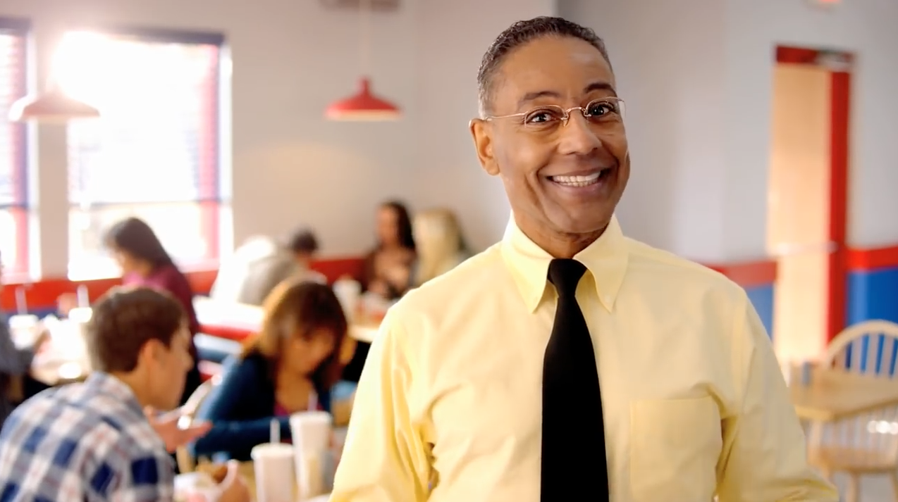 Breaking Bad Fans Lose Their Minds As Gus Fring Returns In Ad For Los Pollos Hermanos