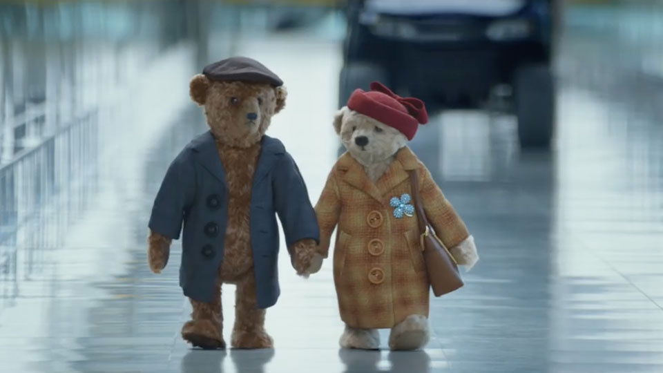 Heathrow Airport's Christmas Ad With Two Old Teddy Bears Makes
