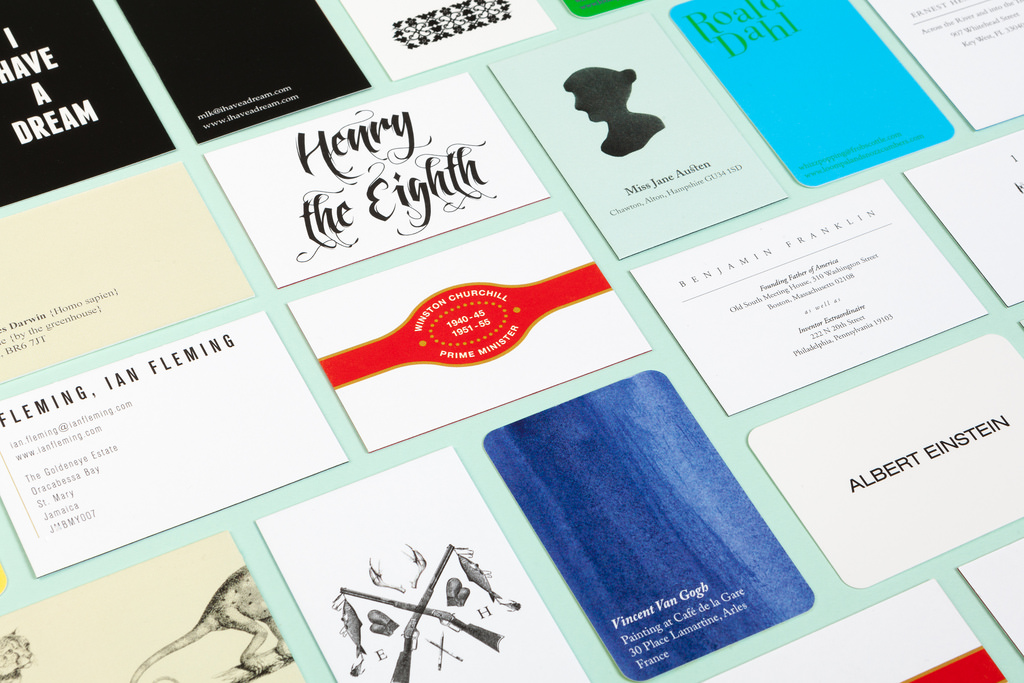 Darwin to Shakespeare: If Historical Figures Had Business Cards and ...
