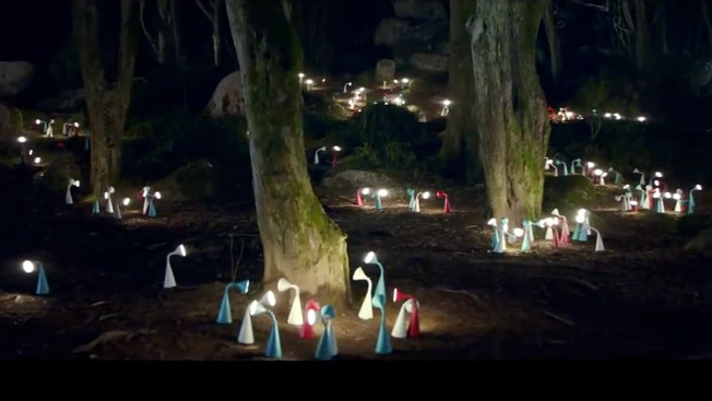 Ikea Lights Up A Forest In Gorgeous Ad
