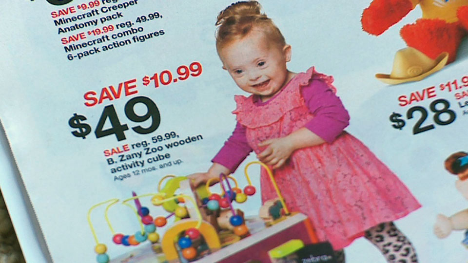 Adorable 2-Year-Old Girl With Down Syndrome Shines in This Target Ad ...