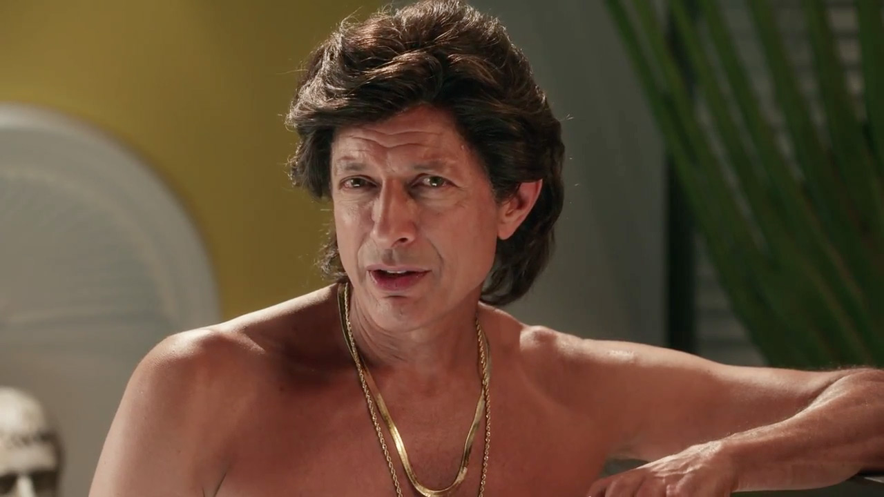 Jeff goldblum is out of his mind in tim erics loony ad for ge brand does a 180 with fake infomercial aloadofball Images