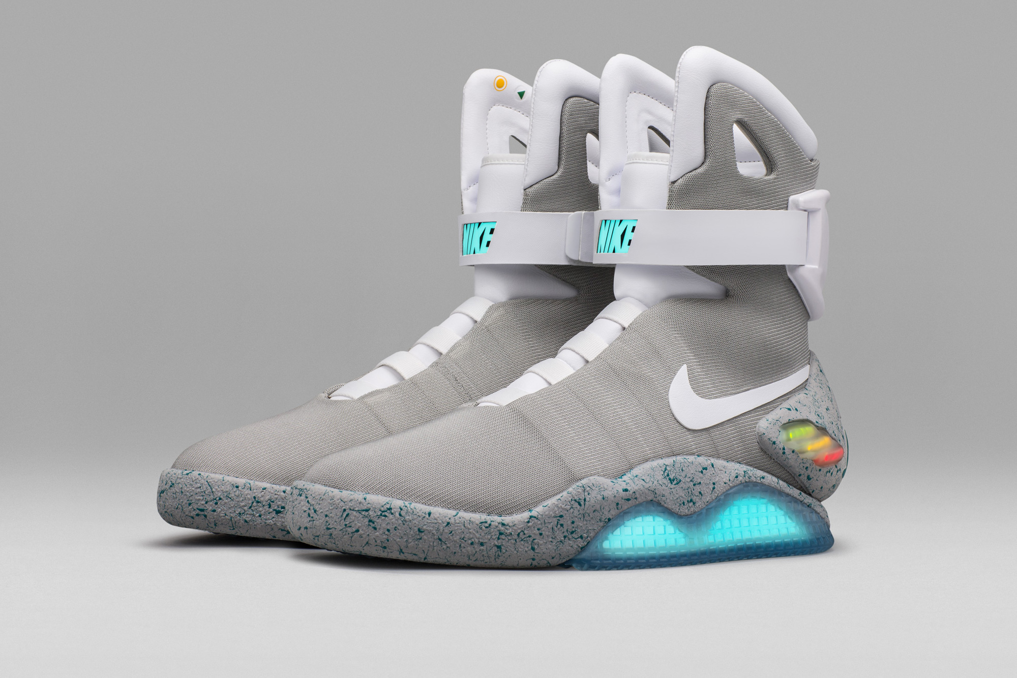 The Nike Mag Self-Lacing Sneakers Are