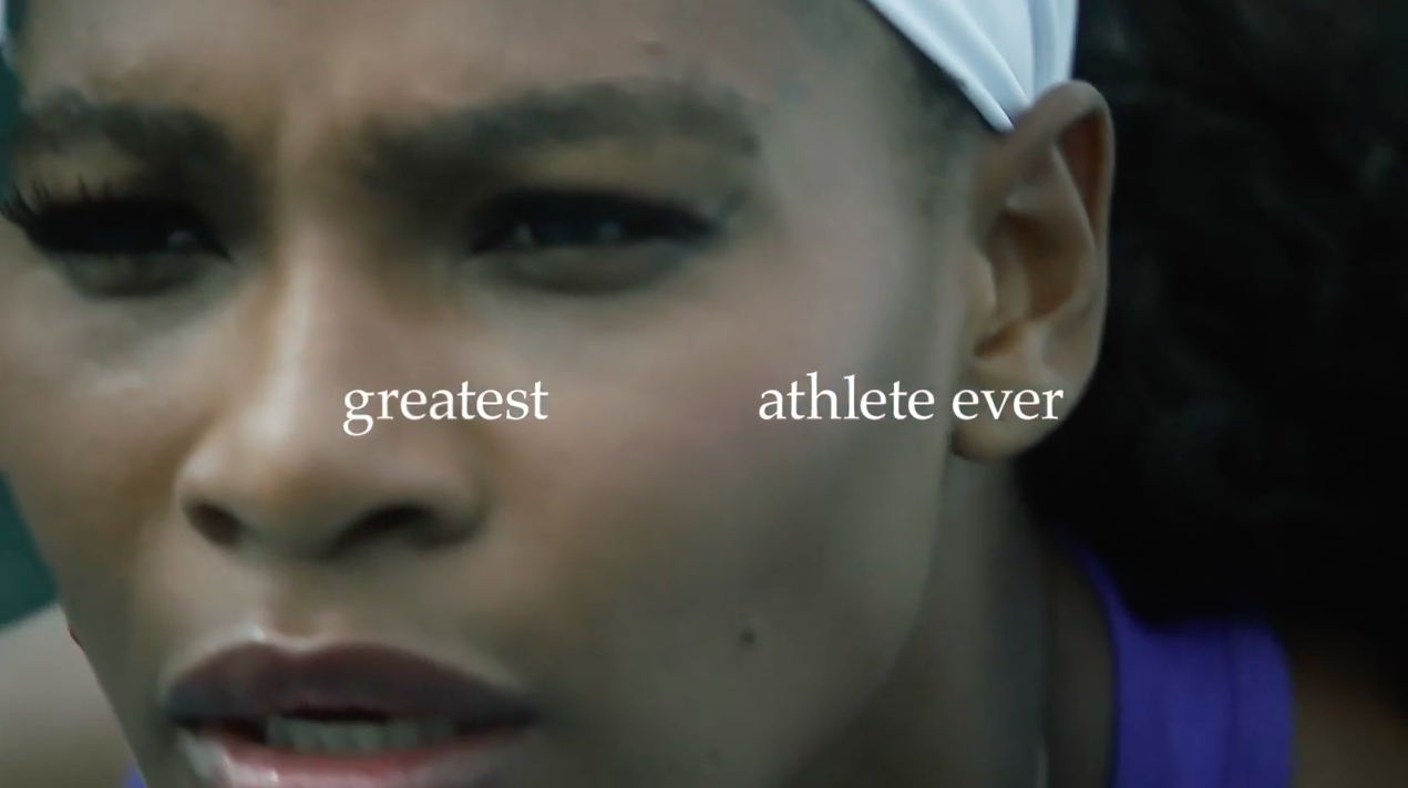 Nike Calls Serena Williams The Greatest Athlete Ever In This Striking U S Open Ad