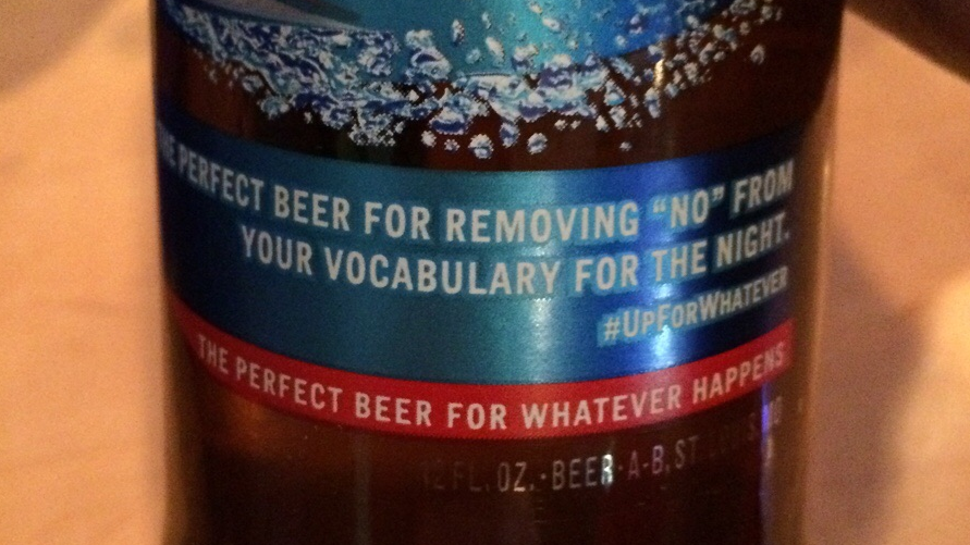 Bud Light Says It Missed The Mark With Line About Removing No From Your Vocabulary