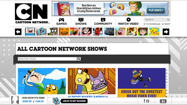 Cartoon Network Upfront Established Names And An Invitation To Native Advertisers