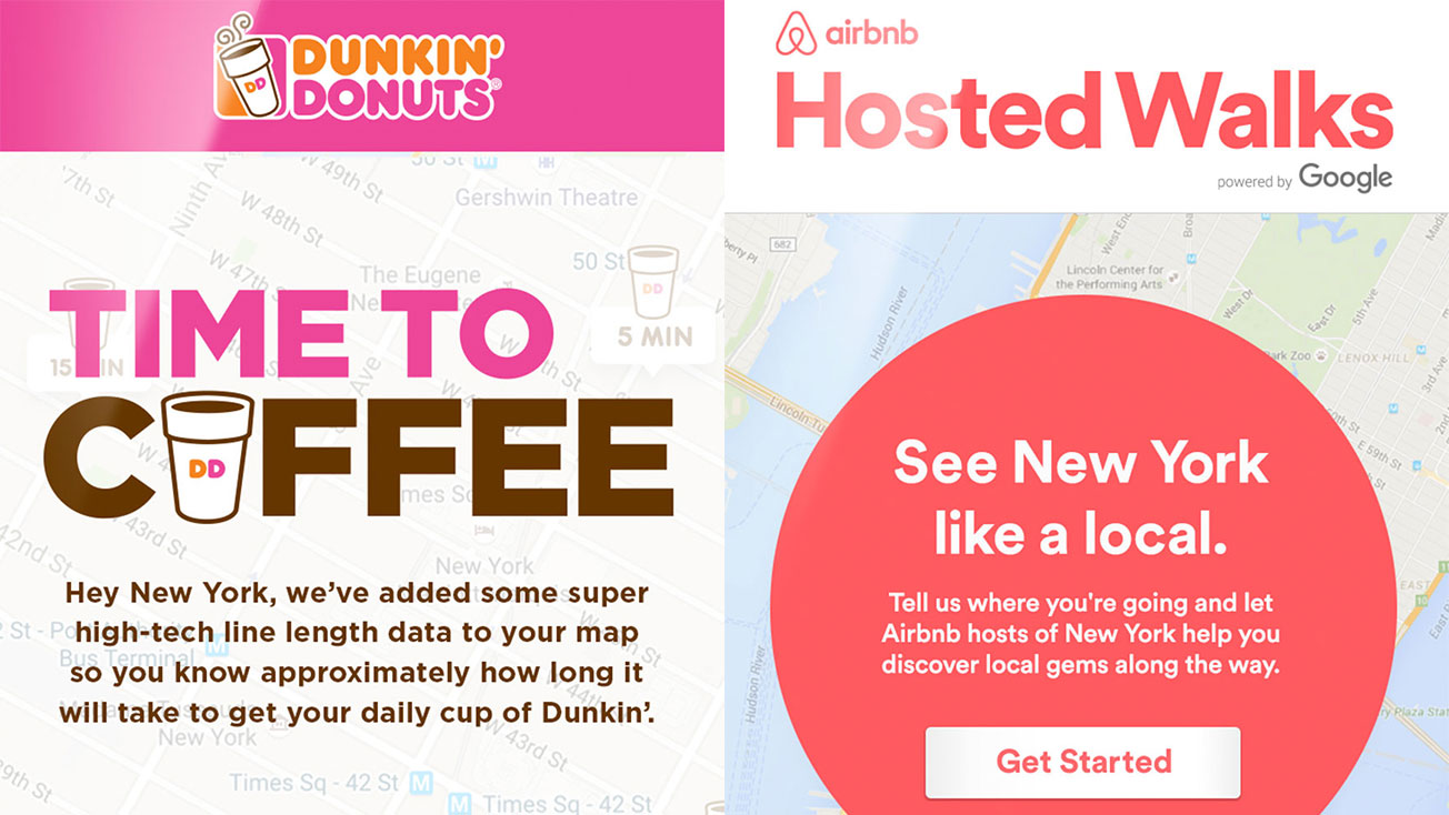How Dunkin Donuts and Airbnb Are Turning Google Searches Into