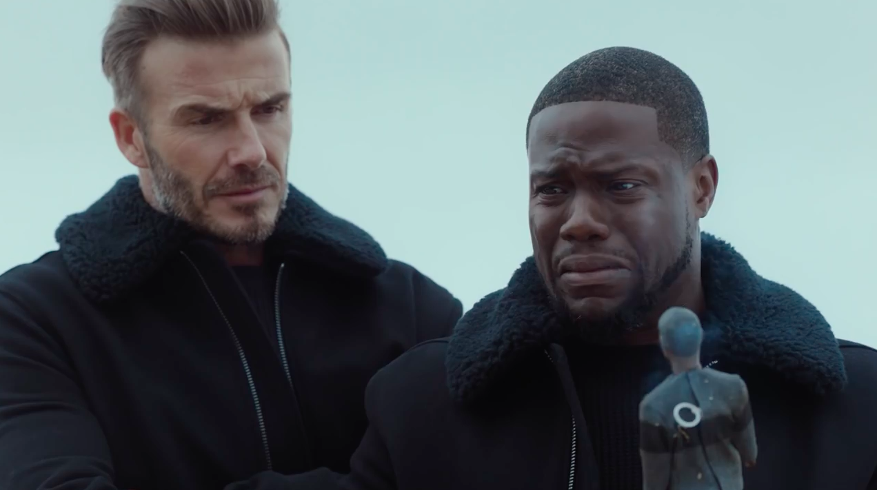 Ad Of The Day Kevin Hart And David Beckham Take A Fun Disastrous Road Trip For H M