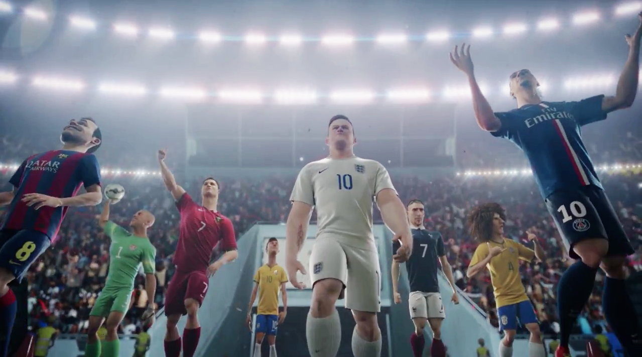 Psiquiatría difícil Convención  Ad of the Day: Nike's 5-Minute Animated World Cup Film Has Humans  Everywhere Cheering