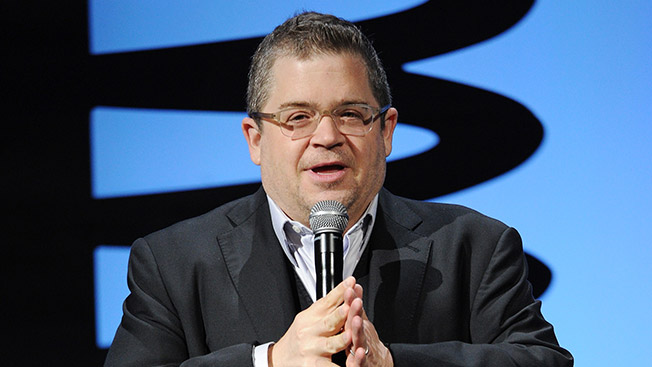 Comedian Patton Oswalt hosts The Webby Awards on May 19, 2014 in New York.