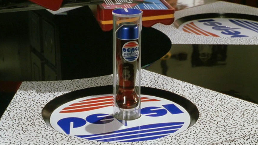 diet pepsi free back to the future