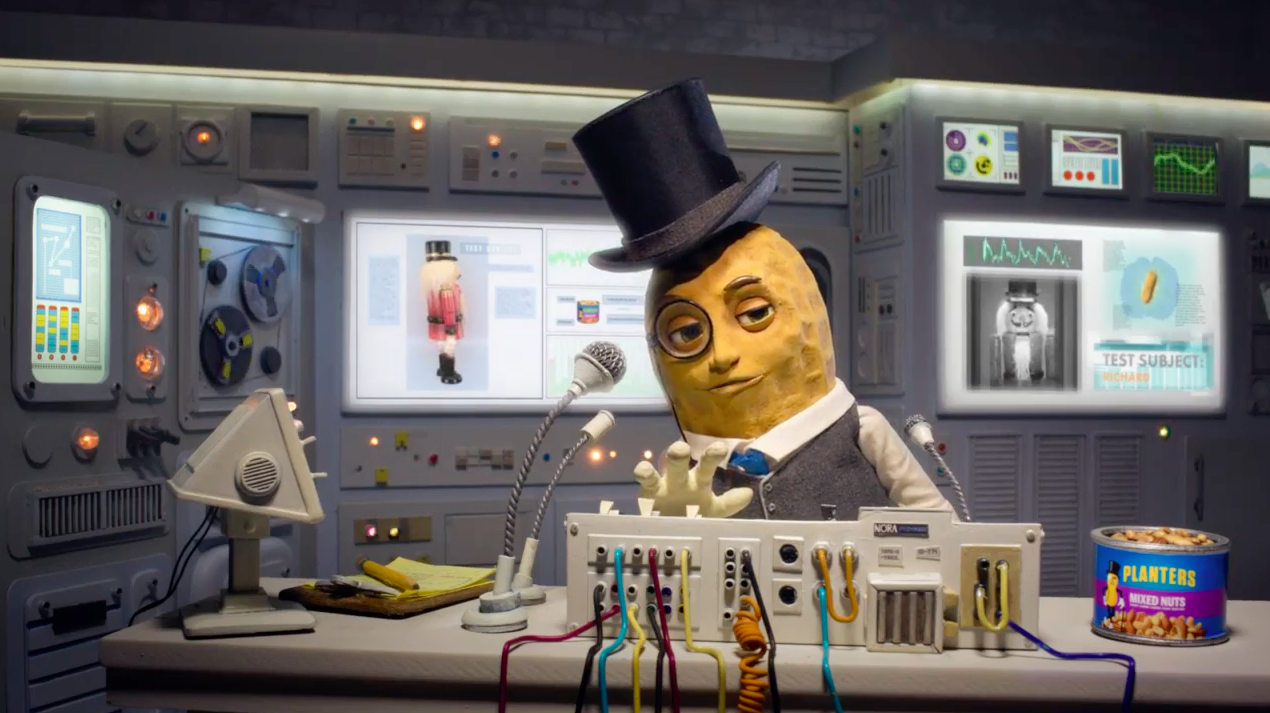 Ad of the Day: Craving Mr. Peanut? Planters' Animated Mascot Returns, With an Attitude