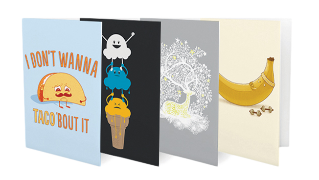A social spin on greeting cards adweek open me teams with threadless to shake up a 4 billion industry m4hsunfo