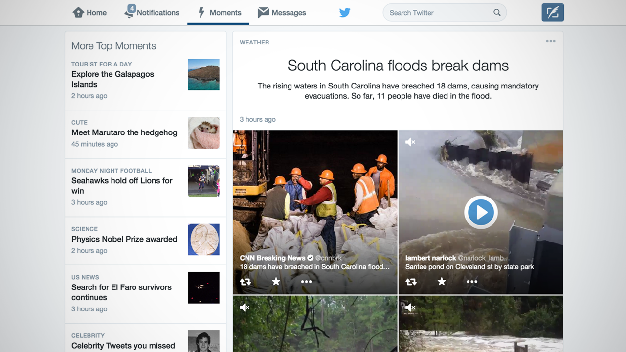 What Twitter's New 'Moments' Feature Means to Viewers ...