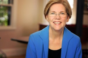 headshot of massachusetts senator elizabeth warren