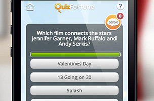 Answer thousands of trivia questions in QuizFortune Trivia