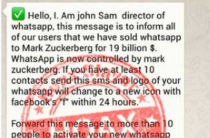 WARNING: WhatsApp Users Do Not Have to Share Messages with