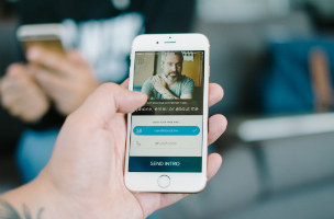 About launches intro digital business card app adweek about has announced the launch of its spinoff app intro which allows users to create and share digital business cards easily connecting with new colourmoves