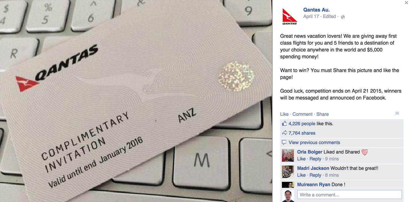 7 Ways To Identify Facebook Contest Scams – Adweek