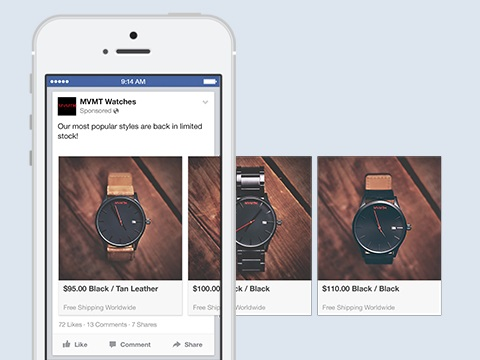 Facebook Carousel Format Now Available for Organic Posts ... | 360x480