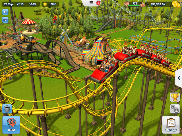 Frontier Developments Brings RollerCoaster Tycoon 3 to iOS