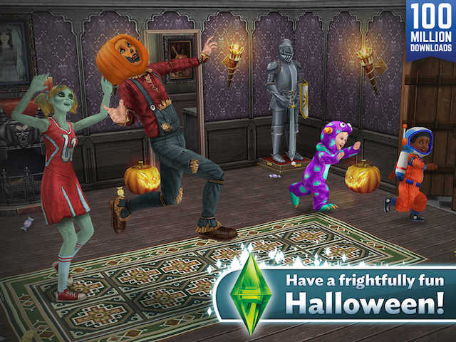 Sims Freeplay Halloween 2020 The Sims FreePlay Gets 'Monsters and Magic' Halloween Update