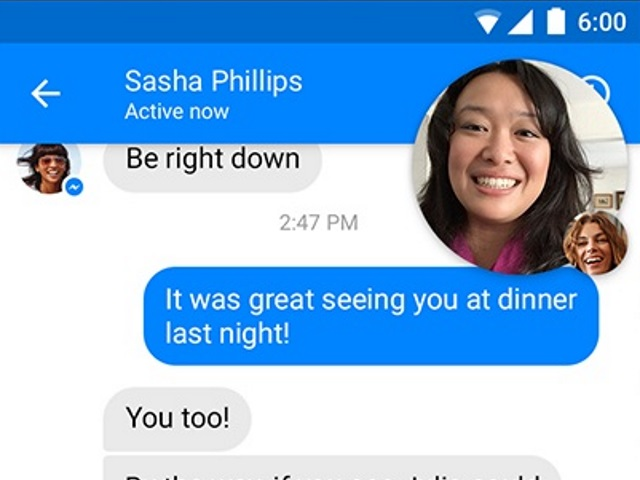 Video Chat Heads Coming to Facebook Messenger – Adweek
