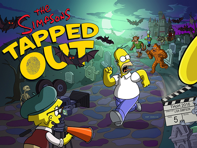Character Starts Simpsons Tapped Out Halloween 2020 The Simpsons: Tapped Out Receives Treehouse of Horror 2016 Update